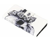Design TPU Booktype Hülle für das Huawei Y7 (2018)