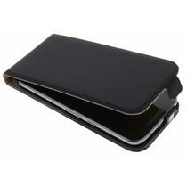 Luxus Flipcase für Motorola Moto G4 (Plus) - Schwarz