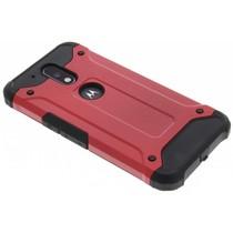 Rotes Rugged Xtreme Case für Motorola Moto G4 (Plus)
