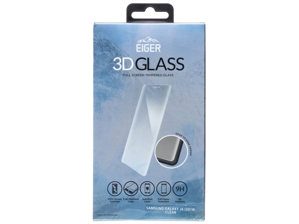 Eiger 3d Glass Screenprotector Samsung Galaxy J6