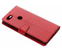 Stilvolles Booklet Rot für das Google Pixel 3 XL