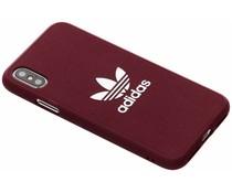 adidas Originals Adicolor Moulded Case Violett für das iPhone Xs / X