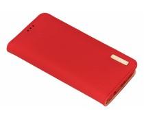 Dux Ducis Genuine Leather Case Rot für das Huawei P20 Lite