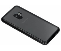 Selencia Magnethülle Schwarz Samsung Galaxy S9