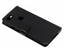 Stilvolles Booklet Schwarz für das Google Pixel 3 XL