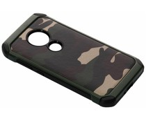 Camouflage Hardcase-Hülle Grün für Moto E5 / Moto G6 Play
