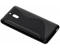 S-Line TPU Hülle Schwarz für das Nokia 2 (2018)