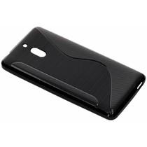 S-Line TPU Hülle Schwarz für das Nokia 2.1