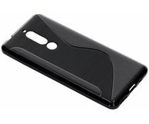 S-Line TPU Hülle Schwarz für das Nokia 5.1