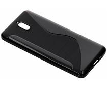 S-Line TPU Hülle Schwarz für das Nokia 3.1