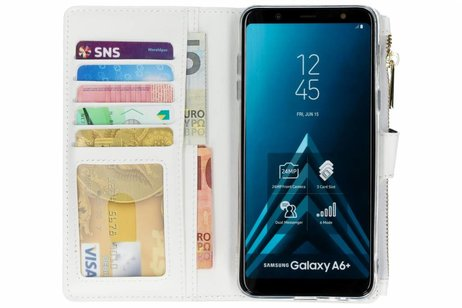 Luxuriose Portemonnaie Hulle Galaxy A6 Plus 2018