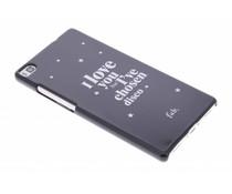 Fab. Disco Glitter Hardcase Handyhülle für das Huawei P8