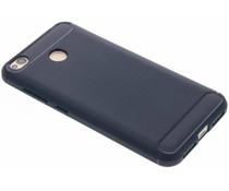 Brushed TPU Dunkelblau Schwarz für das Xiaomi Redmi 4X