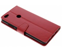 Stilvolles Booklet Rot für Xiaomi Redmi Note 5A