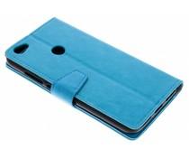 Stilvolles Booklet Blau für Xiaomi Redmi Note 5A