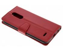 Stilvolles Booklet Rot für das LG K11