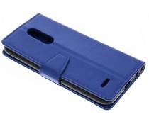 Stilvolles Booklet Blau für das LG K11