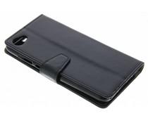 Stilvolles Booklet Schwarz für das HTC Desire 12