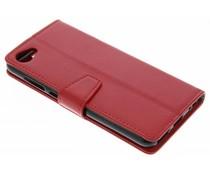 Stilvolles Booklet Rot für das HTC Desire 12