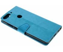 Stilvolles Booklet Blau für das HTC Desire 12 Plus