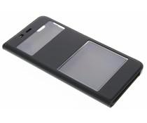 Luxus Slim Booktype Hülle mit Sichtfenster für Xiaomi Mi 5