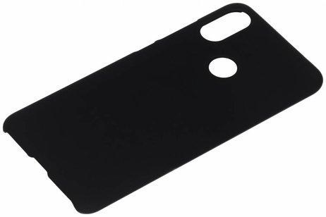 Xiaomi Mi A2 hülle - Unifarbene Hardcase-Hülle Schwarz für