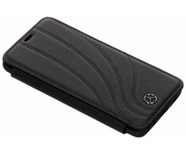 Mercedes-Benz Real Leather Booktype Case Schwarz Samsung Galaxy S9 Plus