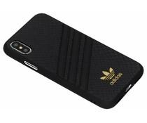 adidas Originals Moulded Snake Case Schwarz für das iPhone Xs / X