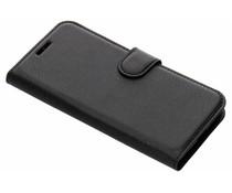 Litchi Booktype Hülle Schwarz für das Xiaomi Redmi 6A