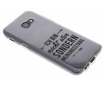 Zitat-Design TPU Handyhülle für das Samsung Galaxy A5 (2017)