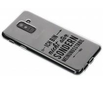 Zitat-Design TPU Handyhülle Samsung Galaxy A6 Plus (2018)