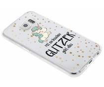 Zitat-Design TPU Handyhülle für das Samsung Galaxy S6