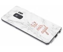 Zitat-Design TPU Handyhülle für das Samsung Galaxy S9