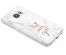 Zitat-Design TPU Handyhülle für das Samsung Galaxy S7