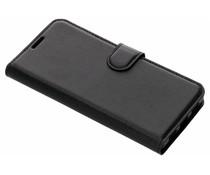 Litchi Buchtyp-Hülle Schwarz für das BlackBerry Key2