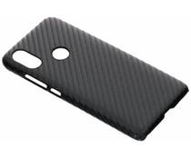 Carbon Look Hardcase-Hülle Schwarz für Xiaomi Mi A2