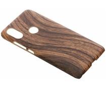Holz-Design Hardcase-Hülle Braun für das Xiaomi Mi A2