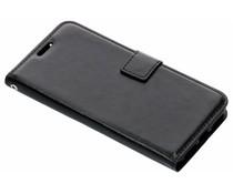 Luxus Leder Booktype Hülle Schwarz für Xiaomi Mi A2 Lite