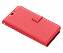 Luxus Leder Booktype Hülle Rot für das Xiaomi Mi A2 Lite