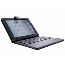 Buchtyp-Schutzhülle mit einer Tastatur iPad 2 / 3 / 4