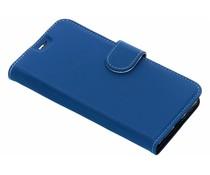 Accezz Wallet TPU Booklet Blau für das LG Q7