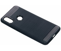 Brushed TPU Case Dunkelblau für das Xiaomi Redmi S2