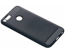 Brushed TPU Case Dunkelblau für das Xiaomi Mi A1