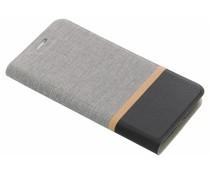 Stripe Booklet Grau für das HTC 10