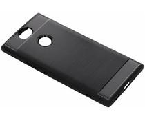 Brushed TPU Case Schwarz für das Sony Xperia XA2 Plus