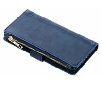Luxuriöse Portemonnaie-Hülle Blau Huawei Mate 10 Lite