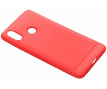 Brushed TPU Case Rot für das Xiaomi Mi Max 3