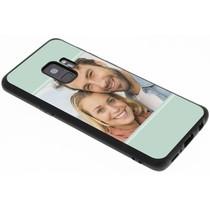 Bedrukken Gestalten Sie Ihre eigene Galaxy S9 Gel Hülle - Schwarz