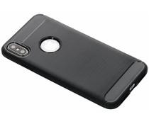 Brushed TPU Case Schwarz für das iPhone Xs Max