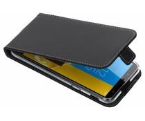 Accezz Flip Case Schwarz für das Samsung Galaxy J6